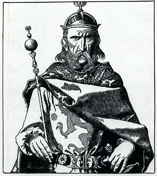 Uther Pendragon, by Howard Pyle (1903)