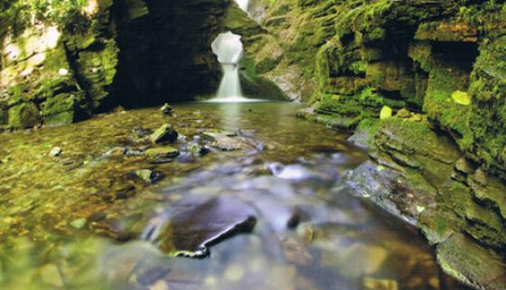 St Nectan's Glen and Waterfall, Cornwall