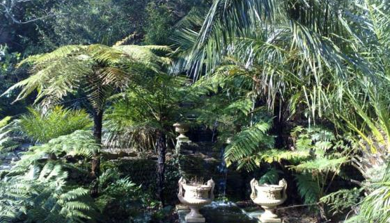 Lamorran House Gardens, Cornwall