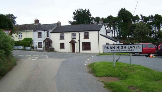 Ruan High Lanes, Cornwall